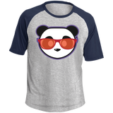 T-shirt Raglan Homme - Red Beach Panda