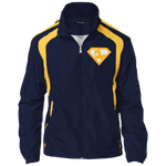 Veste Colorblock Homme Brodée - Athletic Gold Super AUB