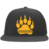Casquette Snapback Brodée - Athletic Gold Bear Paw