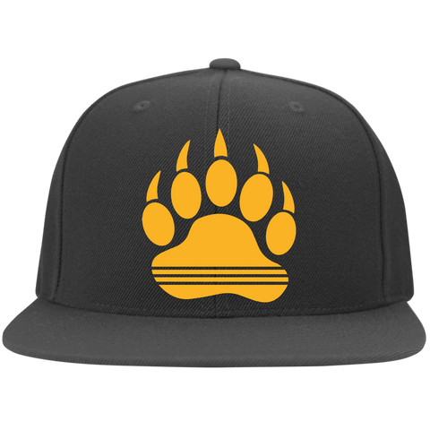 Casquette Snapback Brodée - Athletic Gold Bear Print