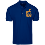 Polo Homme Brodé - Antic Gold Unicorn