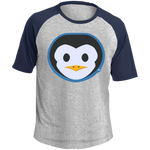 T-shirt Raglan Homme - Stuffed Penguin
