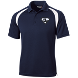 Polo Golf Homme Brodé - Black Super AUB