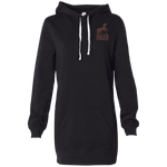 Robe Sweatshirt Brodée - Brown Unicorn