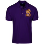 Polo Homme Brodé - Antic Gold Bear Paw