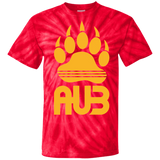 T-shirt Tie & Dye Homme - Athletic Gold Bear Paw