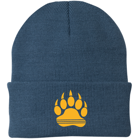Bonnet Brodé - Athletic Gold Bear Paw