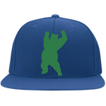 Casquette Snapback Brodée - Kelly Green Dancing Bear
