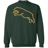 Pull-over Unisexe - Gold Neon Jumping Bear