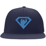 Casquette Snapback Brodée - California Blue Super Bear