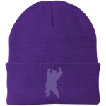 Bonnet Brodé - Purple Dancing Bear