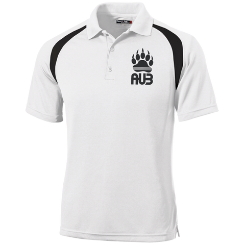 Polo Golf Homme Brodé - Black Bear Paw
