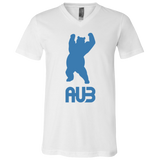 T-Shirt col V Unisexe - California Blue Dancing Bear