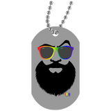 Collier Dog Tag - Rainbow Beach Beard