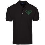 Polo Homme Brodé - Forest Green Super Bear