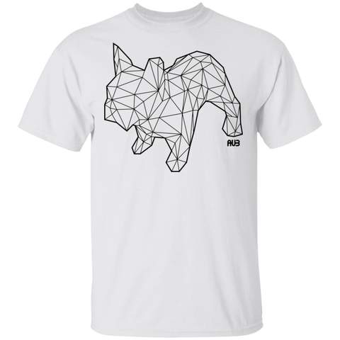 T-Shirt Classique Homme - Black Origami French Bulldog II