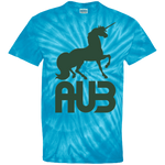 T-shirt Tie & Dye Homme - Forest Green Unicorn