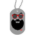 Collier Dog Tag - Red Beach Beard