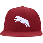 Casquette Snapback Brodée - White Jumping Bear