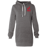 Robe Sweatshirt Brodée - Red Unicorn
