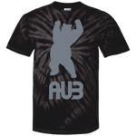 T-shirt Tie & Dye Homme - Grey Dancing Bear