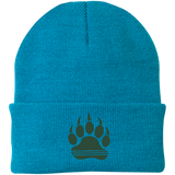 Bonnet Brodé - Forest Green Bear Paw