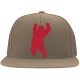 Casquette Snapback Brodée - Red Dancing Bear