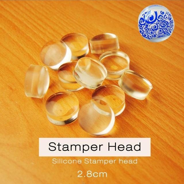 Replacement Stamper Head, 1 Piece