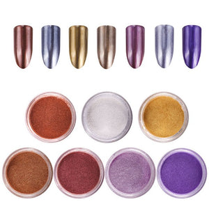 Chrome Pigments, 7 Jar Set