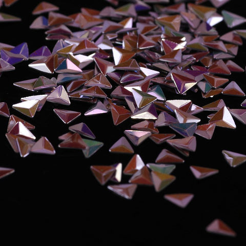 Dome Triangle Sequins, 12 Styles