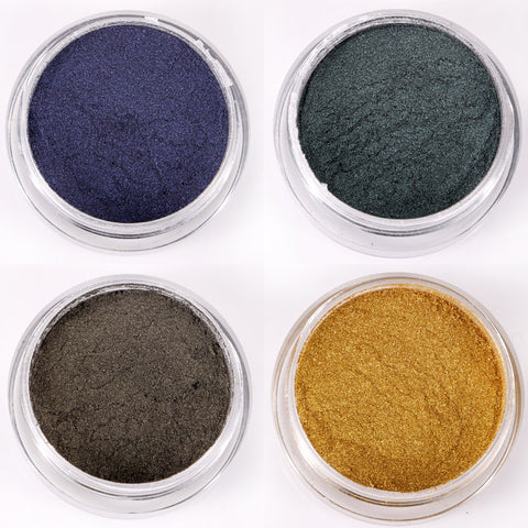 Cats Eye Magnetic Pigment, 8 Jar Set