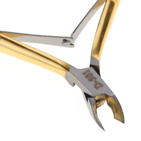 Gold Stainless Steel Cuticle Nippers