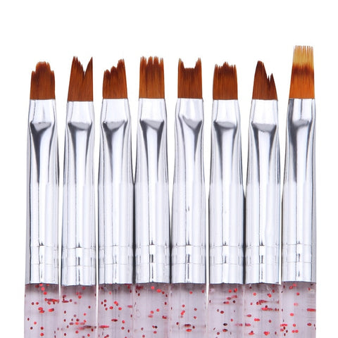 Specialty Brushes, 8 Piece Set