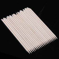 Wood Manicure Sticks, 20 Pieces