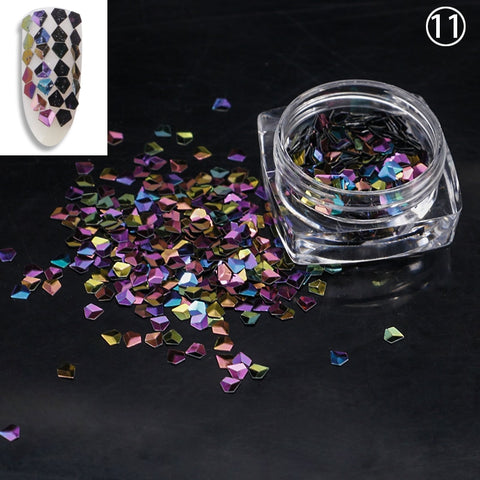Dome Jewel Sequins, 12 Jar Set