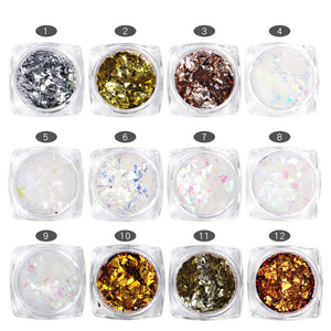 Mylar, 12 Jar Set