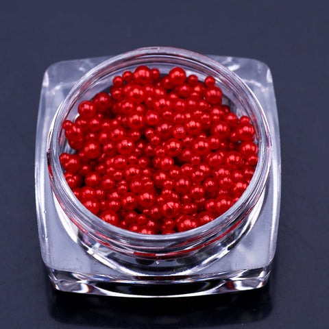 Image of Pearl Decorations, 12 Jar Set