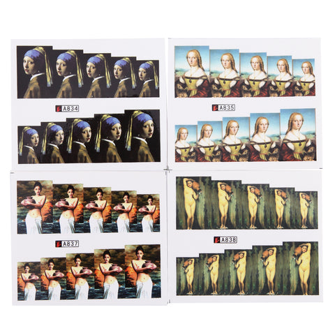 Image of Female Icons Water Transfer Decals, 50 Sheets