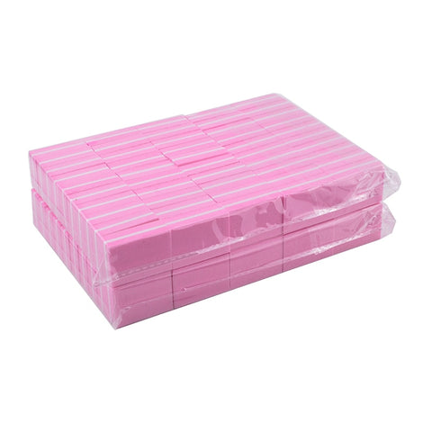 Image of Mini Buffers, Pink, 100 Pieces
