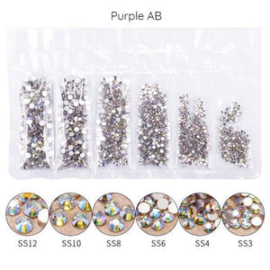 Mega Pack Rhinestones, Purple AB