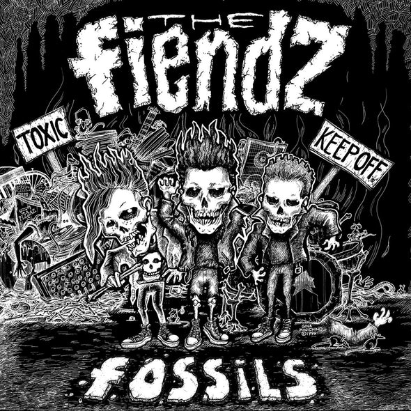 "THE FIENDZ - ""FOSSILS"" CD"