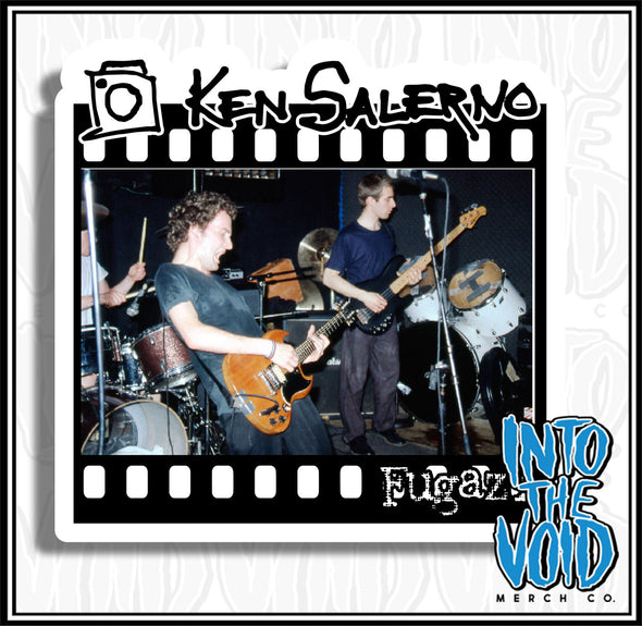 KEN SALERNO - FUGAZI Sticker