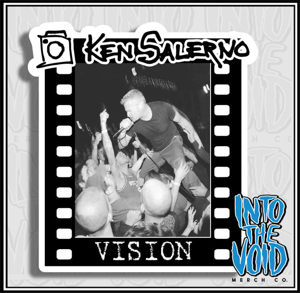 KEN SALERNO - VISION Sticker 1