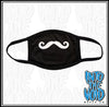 MOVEMBER - TEAM MUSTACHE TEAM - Face Mask 2