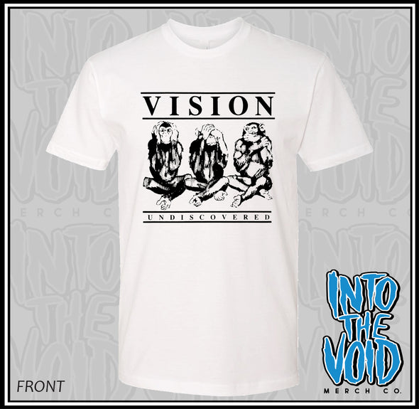VISION - UNDISCOVERED - Men's Short Sleeve T-Shirt