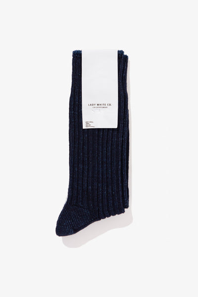 LWC SOCK - DARK INDIGO