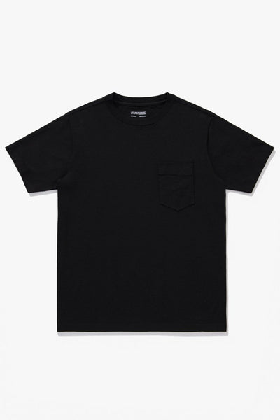 BALTA POCKET T-SHIRT - BLACK