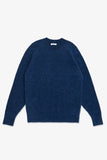 LA RAGLAN KNIT SWEATER - COBALT