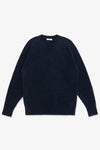 LA RAGLAN KNIT SWEATER - NAVY