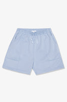 TRACK SHORT - LIGHT BLUE